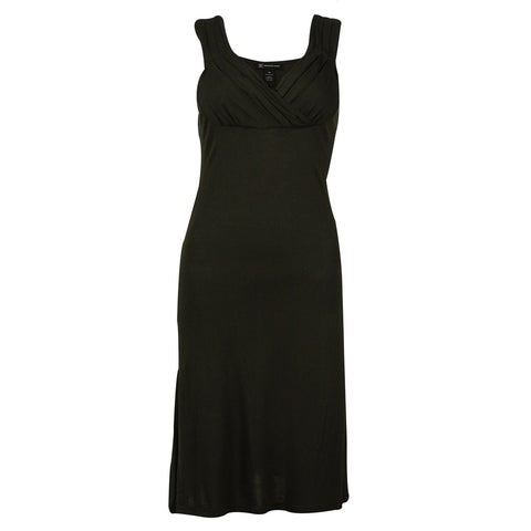 INC International Concepts Women's Sleeveless V-Neck Empire Dress