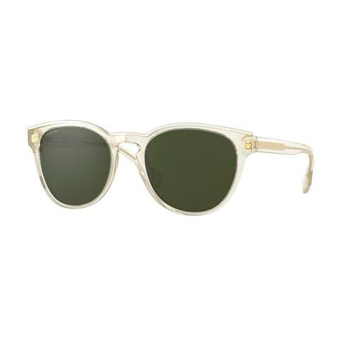 Burberry BE4310 385271 54 Transparent Yellow Man Phantos Sunglasses