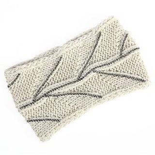 Mad Style Cream Diamond Branch Headwrap