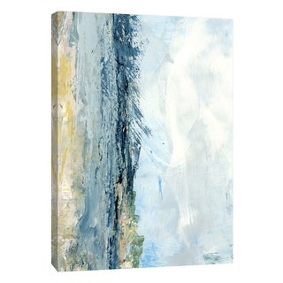 """PTM Images 9-108467  PTM Canvas Collection 10"""" x 8"""" - """"Coastal Seascape 8"""" Giclee Abstract Art Print on Canvas"""