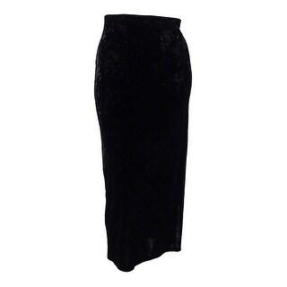 Karen Kane Women's Velvet Maxi Skirt - XL