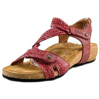Taos Trulie Open Toe Leather Gladiator Sandal