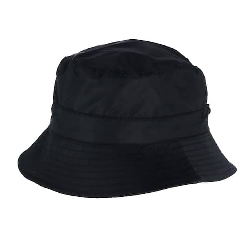 Angela & William Women's Waterproof Packable Rain Hat with Zippered Closure