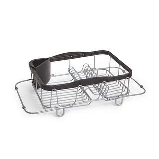 Umbra Sinkin Dish Drying Rack Black/Nickel