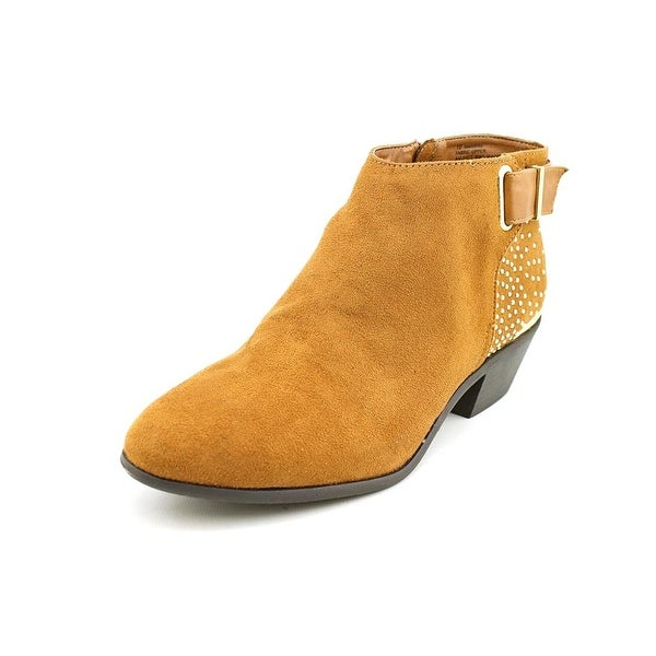 Material Girl Marine   Round Toe Synthetic  Bootie