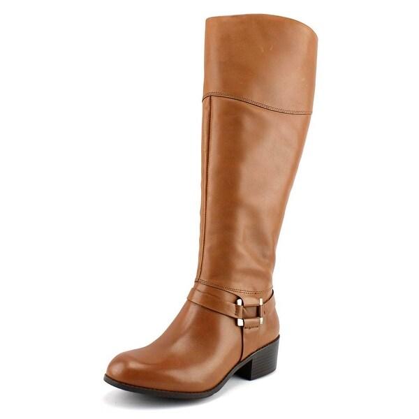 Alfani Biliee Wide Calf Cognac Boots
