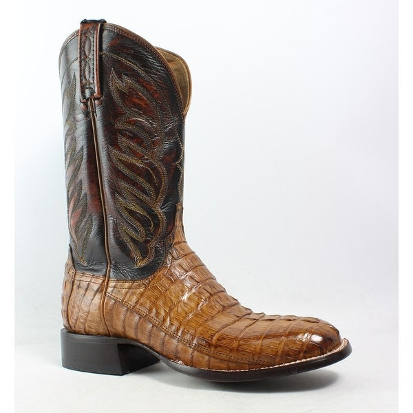 79ebd6198b4 Shop Lucchese Mens M2685 Tan Cowboy, Western Boots Size 8.5 - Free ...