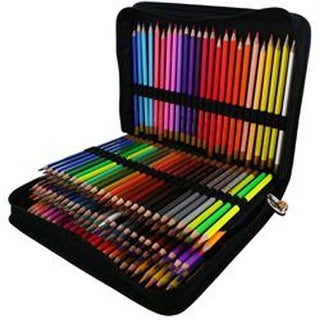Assorted -Color Pencils & Case