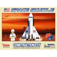 Daron Worldwide Trading   Space Shuttle 140 Piece Construction Toy