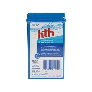 HTH 1174 Multi-Purpose 6-Way Test Strips with 30 Kits