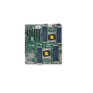 Supermicro Motherboard Mbd-X10dri-B Lga2011 E5-2600V3 C612 Ddr4 Pci-Express Sata E-Atx Brown Box