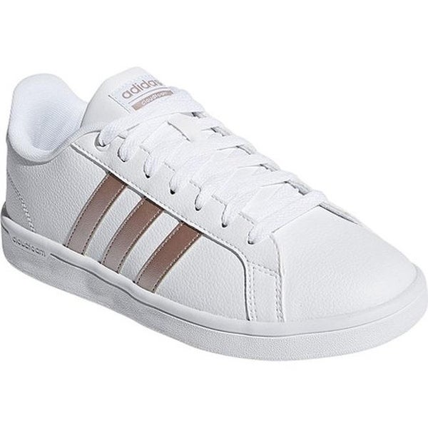 new style 47321 d5ea0 inexpensive adidas womenx27s neo cloudfoam advantage stripe court shoe ftwr  white ftwr 105fa 8174c
