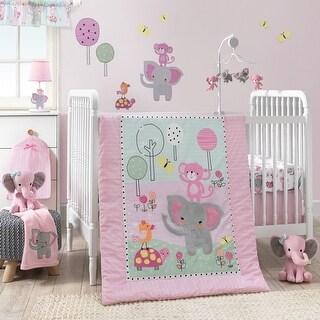 Bedtime Originals Pink Twinkle Toes 3-Piece Crib Bedding Set