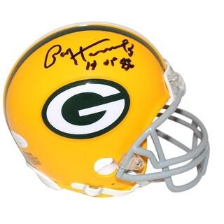 Paul Hornung Autographed Green Bay Packers TB Mini Helmet HOF JSA