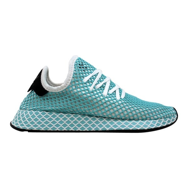 adidas deerupt blue and white