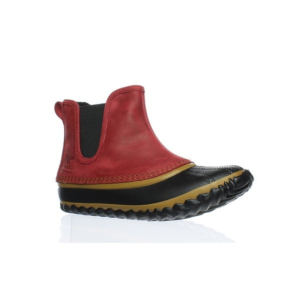 brand new 3d169 b4d75 SOREL Womens Out N About Chelsea-W Gypsy Rainboots Size 5