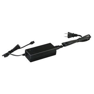 Vaxcel Lighting X0021 Under Cabinet Smart Lighting Low Profile Under Cabinet 36W Power Adapter - Black