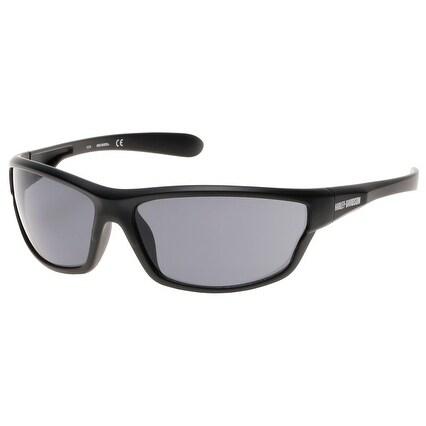 Shop Harley-Davidson Men\'s Plastic Wrap H-D Sunglasses, Black Frame ...