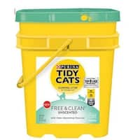 Golden Cat 702116 Tidy Cats Free & Clean Unscented Clumping Cat Litter