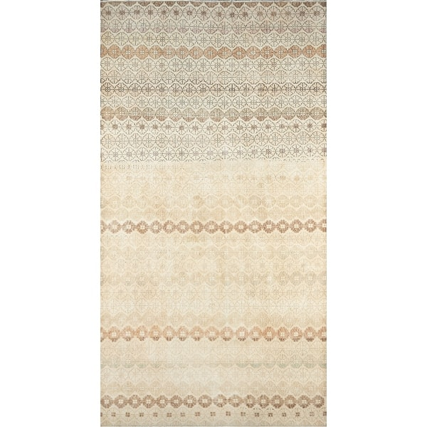 Momeni Heirlooms Vintage Overdye Hand Knotted Wool Gold Area Rug 5 6 X 10 4 On Sale Overstock 32496547