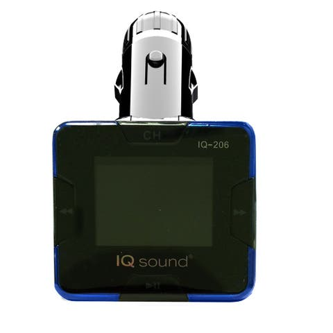 """Supersonic Wireless FM Transmitter with 1.4"""" Display"""