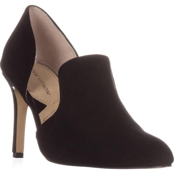 Adrienne Vittadini Footwear Nicolo D'Orsay Pumps, Black - 7.5 us