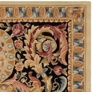 Safavieh Handmade Savonnerie Margon Traditional Oriental Wool Rug