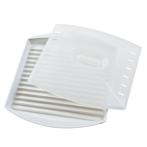 Prep Solutions from Progressive Microwave Bacon Grill with Cover