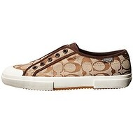 Coach Womens Korrin Low Top Slip On Fashion Sneakers