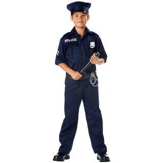 California Costumes Police Child Costume - Blue