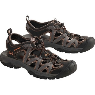 Legendary Whitetails Mens Barracuda Realtree Camo Sandal