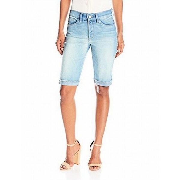 68424f93848b9 Shop NYDJ NEW Blue Womens Size 6 Briella Stretch Roll Cuff Denim ...