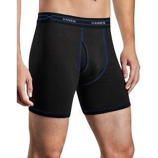 Hanes Men's X-Temp® Performance Cool Boxer Briefs 3-Pack - Size - L - Color - Assorted