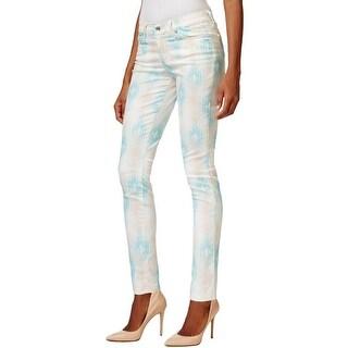 Big Star Womens Skinny Jeans Colored Printed