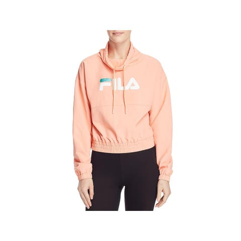 Fila Womens Elsie Athletic Jacket Fitness Active Wear - XS
