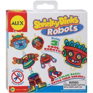 Shrinky Dinks Kit-Robots