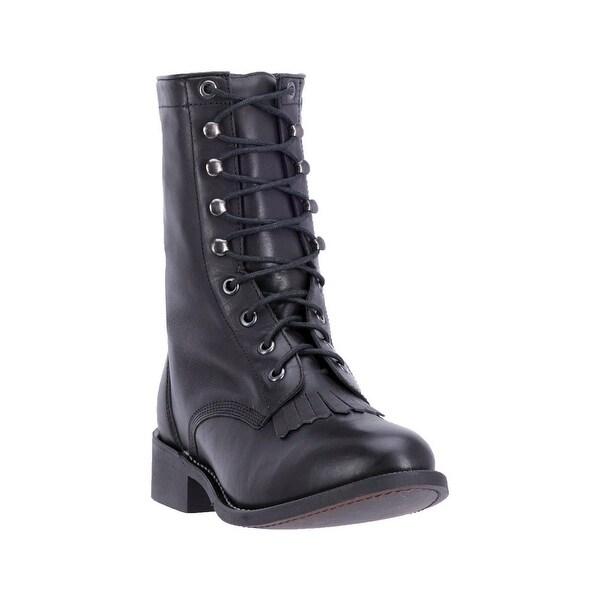 Laredo Western Boots Womens Sara Rose Round Walking Black