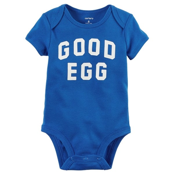 d31d4db0b Shop Carter's Baby Boys' Good Egg Easter Collectible Bodysuit, 3 Months -  Free Shipping On Orders Over $45 - Overstock - 18655232