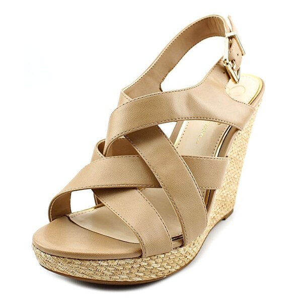 Jessica Simpson Jamallo Women Open Toe Synthetic Wedge Heel