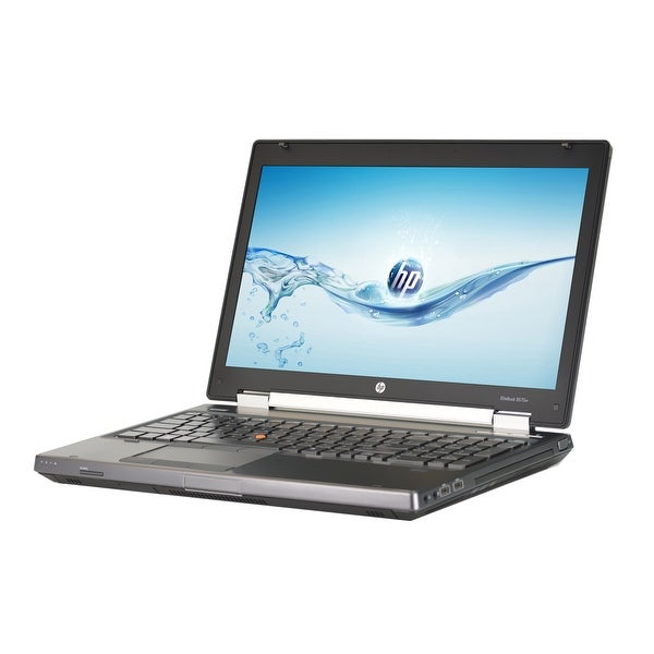 HP EliteBook 8570W Core i5-3360M 2.8GHz 3rd Gen CPU 8GB RAM 500GB HDD Windows 10 Pro 15.6-inch Laptop (Refurbished)