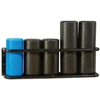Trigger Point Foam Roller Storage Rack Black