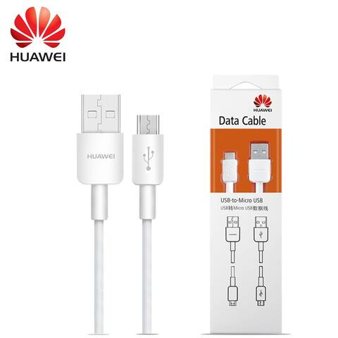 Huawei Charge & Sync Cable USB To Micro USB 1M - White
