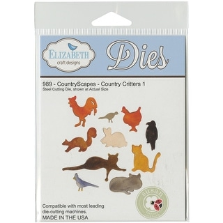 Elizabeth Craft Metal Die-Countryscapes Country Critters 1