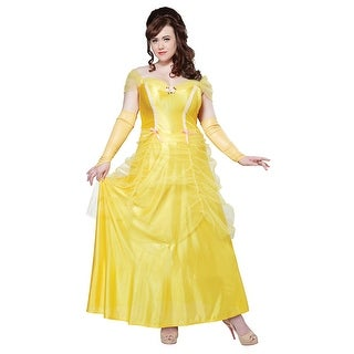 Plus Size Classic Beauty Princess Costume, Plus Size Beauty And The Beast Costume