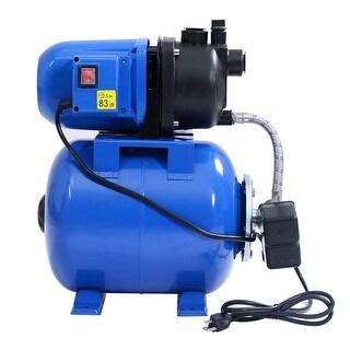 Gymax 1200W Garden Water Pump Shallow Well Pressurized