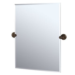 Gatco GC4349S Rectangular Mirror from the Tiara Series - Oil Rubbed Bronze - N/A