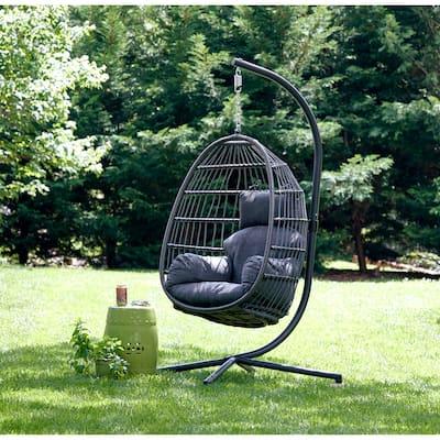 Carova Single Hanging Basket Swing Chair by Avenue 405 - N/A