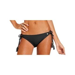 Raisins Womens Sweet Pea Solid Side Tie Swim Bottom Separates