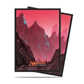 Ultra Pro Mana 5 Unhinged Mountain Standard Deck Protector sleeves for Magic 80ct