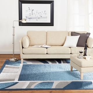 Link to Home Dynamix Premium Rizzy Contemporary Border Area Rug Similar Items in Rugs